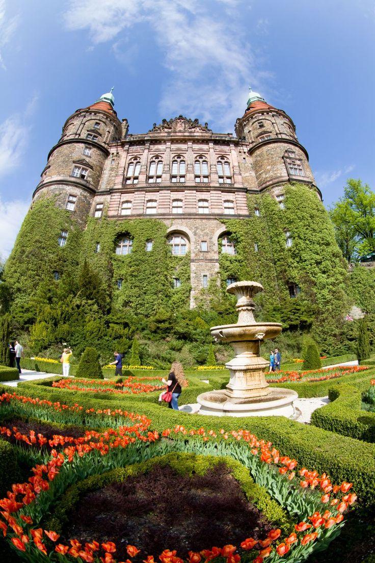 Książ Castle, Poland - the West Terrace