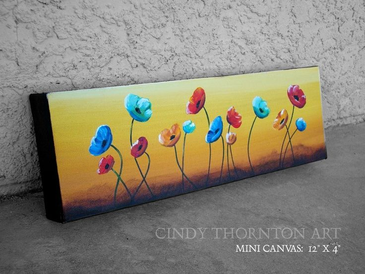 Simple Canvas Painting Ideas | easy canvas paintings for beginners | canvas painting ideas ... | Art