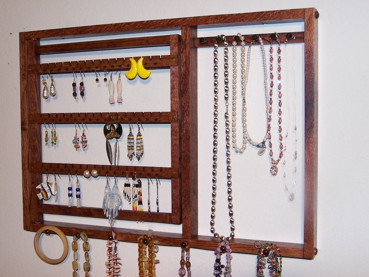 jewelry wall mount organizer - G  Love the width but might not provide enough jewelry space ?