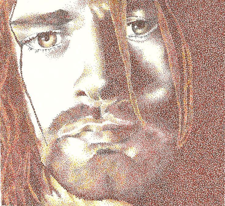 Kurt - www.sereninspired.com - pointillism