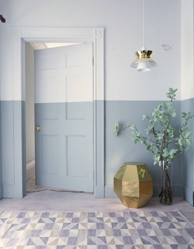 25 beste idee n over twee kleuren muren op pinterest twee kleuren muren fotowand trap en - Tweekleurige keuken ...