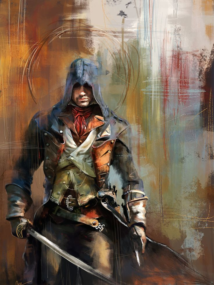 Assassin's Creed: Portrait of Arno Dorian - Created by Wisesnail Prints available for sale on Society6.