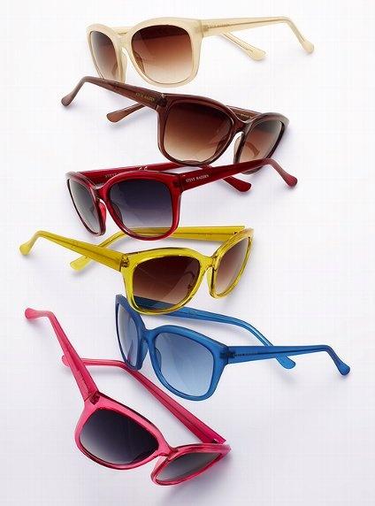Colore, colore colore... anche per gli occhiali da sole!