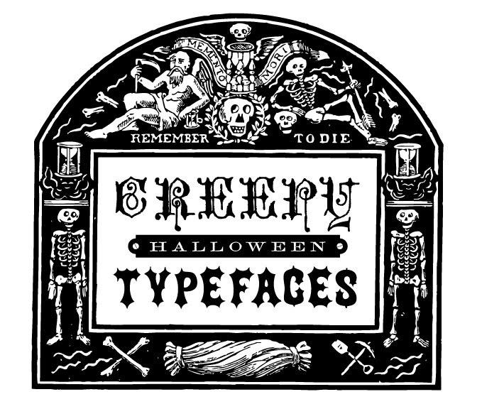 free font write something creepy halloween - Halloween Writing Font