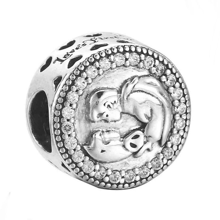 New 925 Sterling Silver Bead Charm Limited Edition Snow White 80th Anniversary Beads Fit Pandora Bracelet Bangle DIY Jewelry #Affiliate