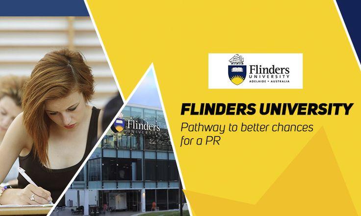 Flinders University- Pathway to better chances for a PR #FlindersUniversity #StudyinAustralia #StudyAbroad #Scholarship #SIEC