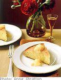 Lemon Creme Fraiche Cake, a light summer dessert
