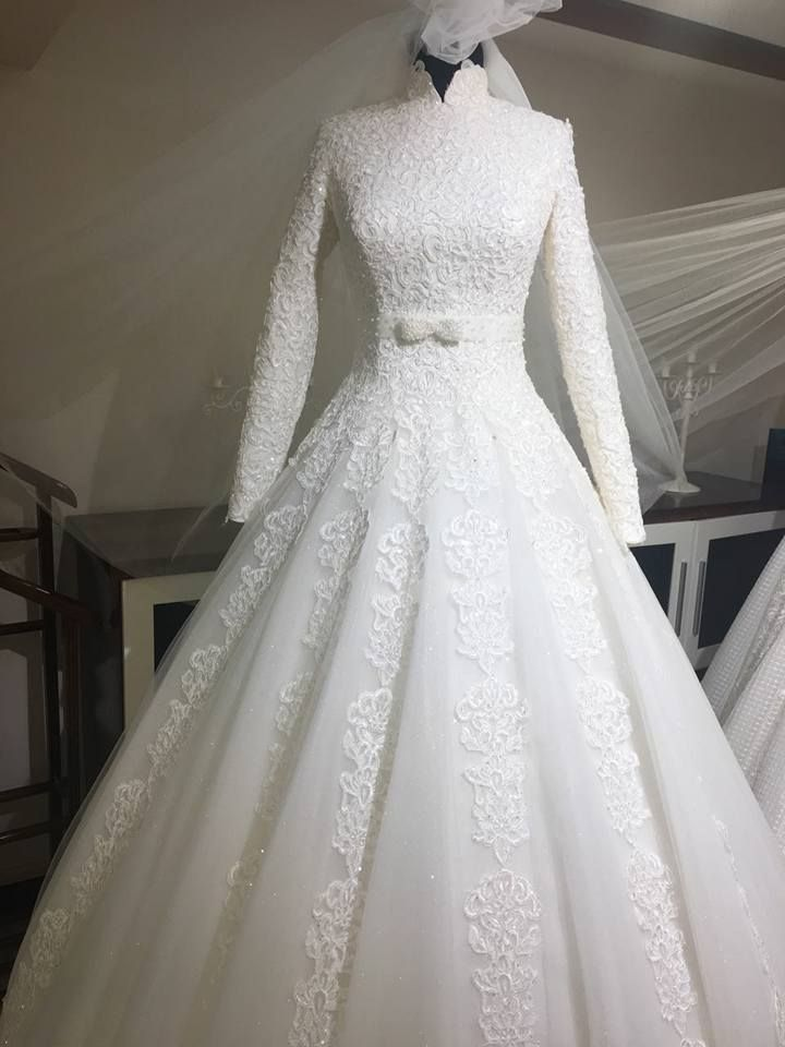 25 Ide Terbaik Muslimah Wedding Dress Di Pinterest
