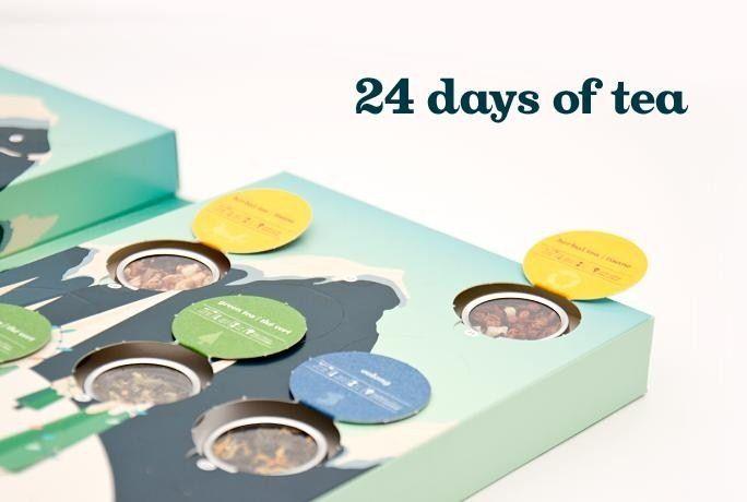 A sprinkle of joy each day of the Christmas season! Davids Tea Advent Calendar…