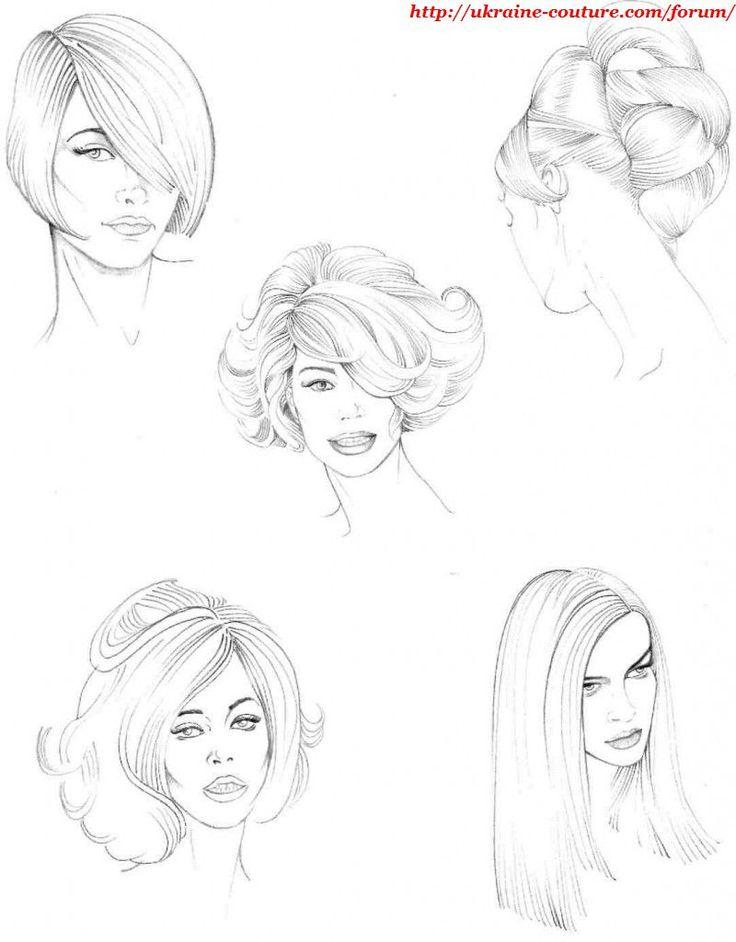 Fashion-эскиз Fashion-иллюстрация