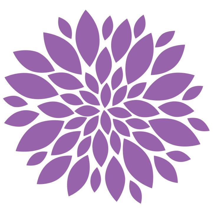 Flowers L image - vector clip art online, royalty free & public domain