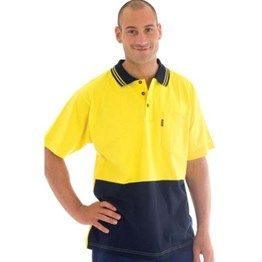 200gsm HiVis Cool-Breeze Cotton Jersey Polo Shirt with under arm Cotton mesh. Call Us Now! http://bit.ly/T8Abid