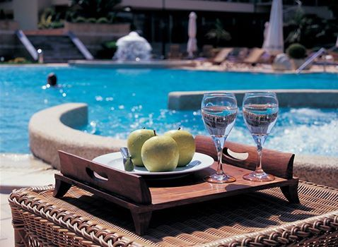 A refreshing dive and a healthy snack... #DivineYou #wellbeing #rejuvenation #spa