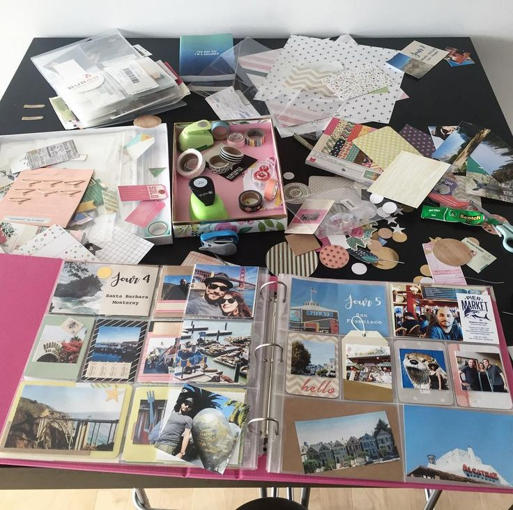 Defi d'avril : faire le #projectlife de notre #roadtrip de 2015 :)