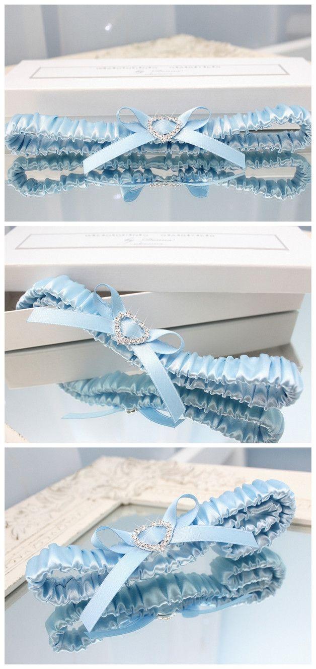 Strumpfband Braut Romantisch Blau Strass Hochzeit Strumpfband Hochzeit Strumpfbander Hochzeitsstrumpfba Strass Hochzeit Hochzeit Accessoires Blaues Strumpfband
