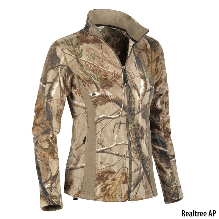 Gander Mountain Womens Camo Fleece Jacket Gander