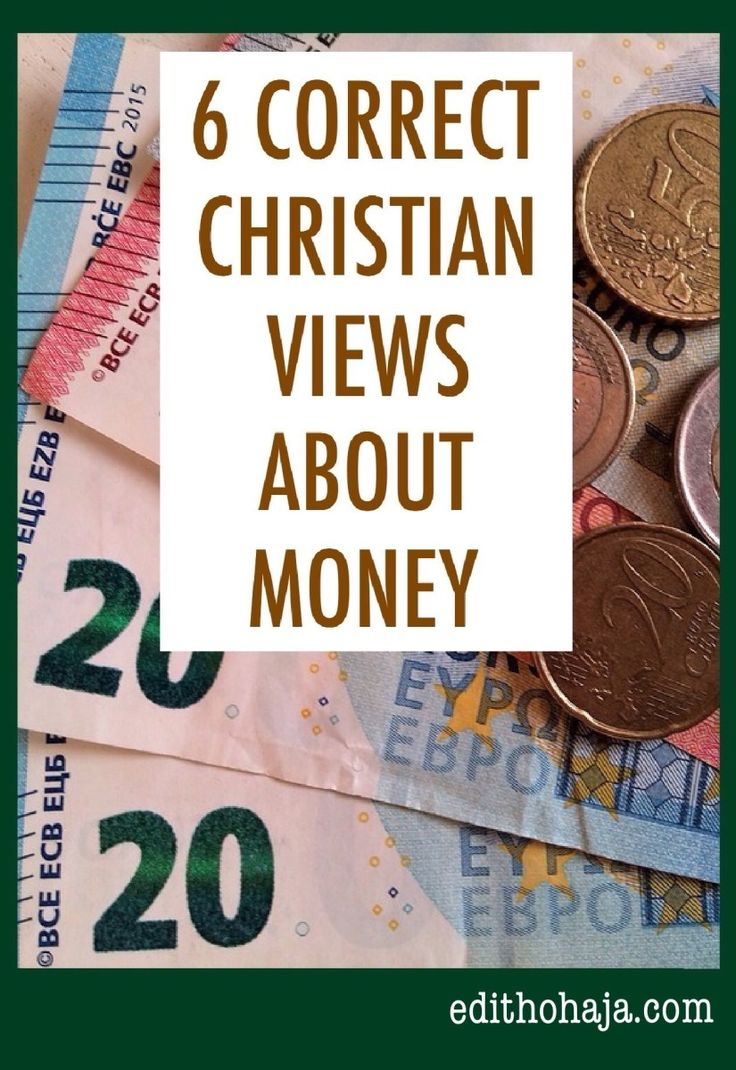 6 CORRECT CHRISTIAN VIEWS ABOUT MONEY Money is a controversial topic in Christian circles. Some believers feel that any rich Christian has missed his or her way. Others actively seek means of improving their financial situation. In view of these differing standpoints, this post gives sound Biblical teaching about the proper way Christians should regard and handle money.