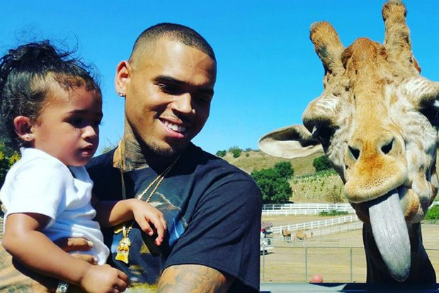 Chris Brown's 'Royalty' Album Cover Is All About His Daughter Royalty