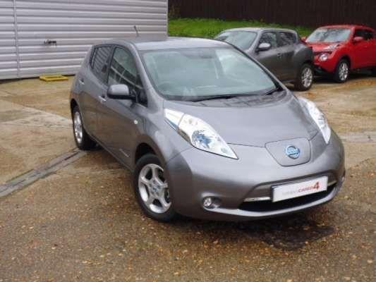 Used 2014 (14 reg) Grey Nissan Leaf Acenta 5dr Auto for sale on RAC Cars
