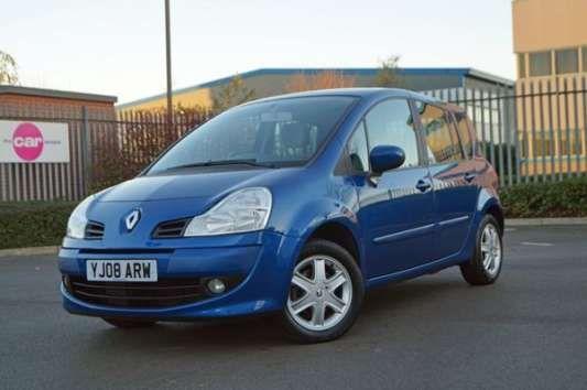 Used 2008 (08 reg) Blue Renault Grand Modus 1.2 TCE Dynamique 5dr for sale on RAC Cars