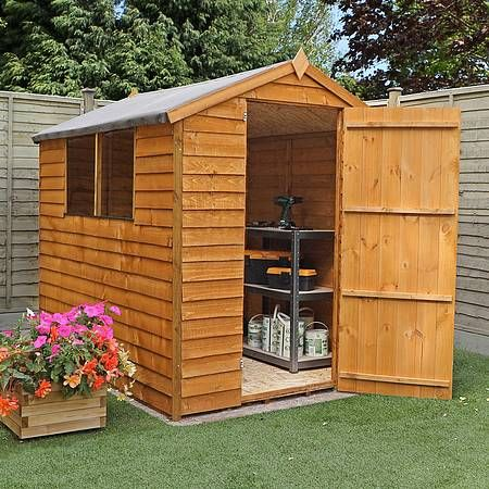 7 x 5 Waltons Overlap Apex Wooden Shed | Waltons Sheds