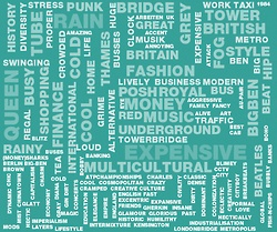 What would your local city look like as a word cloud? A new website is aiming to create a collective consciousness of the way, one word at a time.
