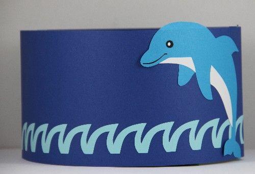 * Verjaardagsmuts: Dolfijn