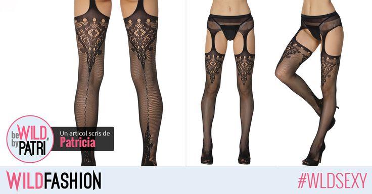 Ciorapii sexy sunt perfecti pentru noptile fierbinti de vara... nu-i asa?