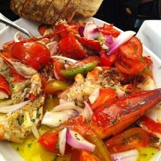 Lobster Catalana in Milan
