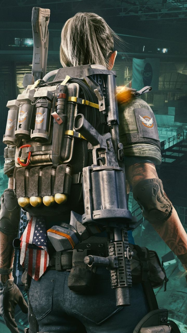 720x1280 Tom Clancy 39 S The Division 2 Girl Soldier 2019 Wallpaper Tom Clancy Tom Clancy The Division Soldier