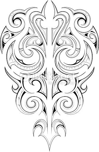 maori tattoo pattern - Google Search                                                                                                                                                                                 More