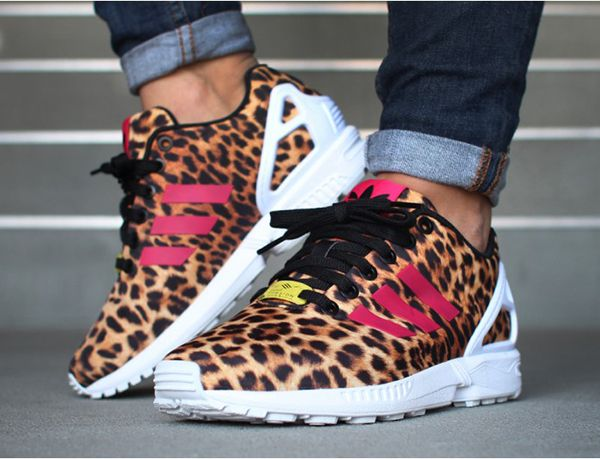 8fe9dd5d5947 Adidas Zx Flux Leopard Print Womens softwaretutor.co.uk