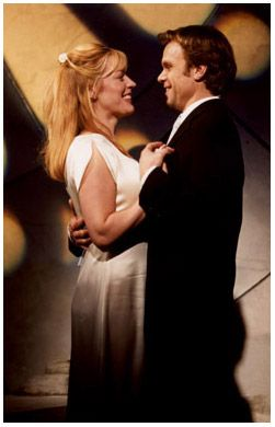 March 3, 2002: THE LAST FIVE YEARS, starring Sherie Rene Scott and Norbert Leo Butz, opens at the Minetta Lane Theatre