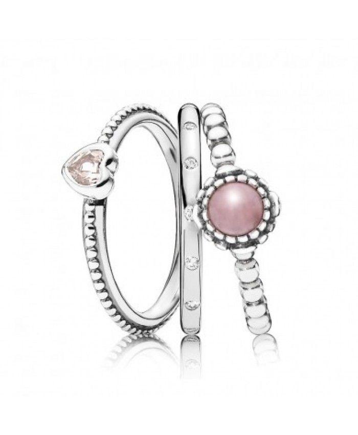 Rings Pandora Jewelry: Best 25+ Pandora Rings Stacked Ideas On Pinterest