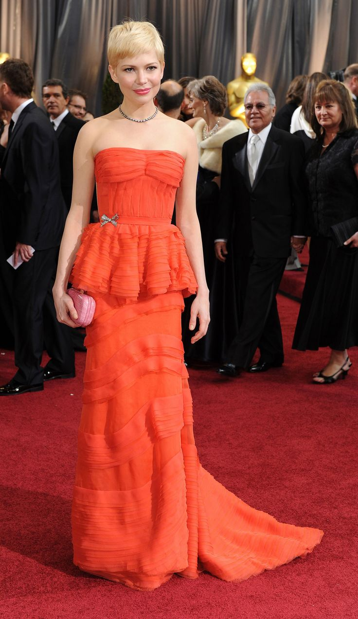 Michelle Williams in Louis Vuitton 2012 - The 25 Best Oscars Dresses of All Time