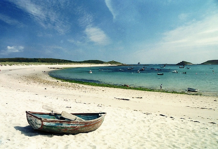 Best Sandy Beach On Isle Of Scilly
