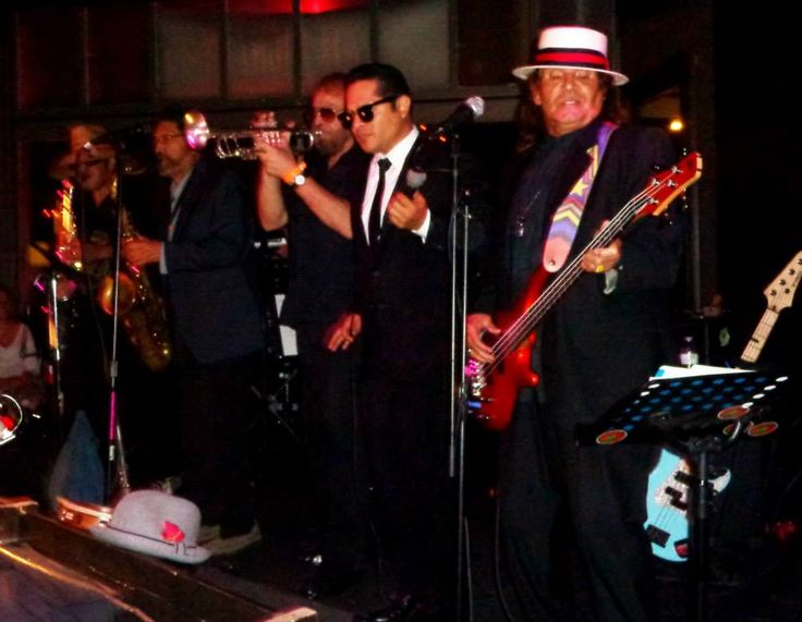 Thee Midniters with Greg Esparza in concert at The Commonwealth Lounge, Fullerton CA 2013