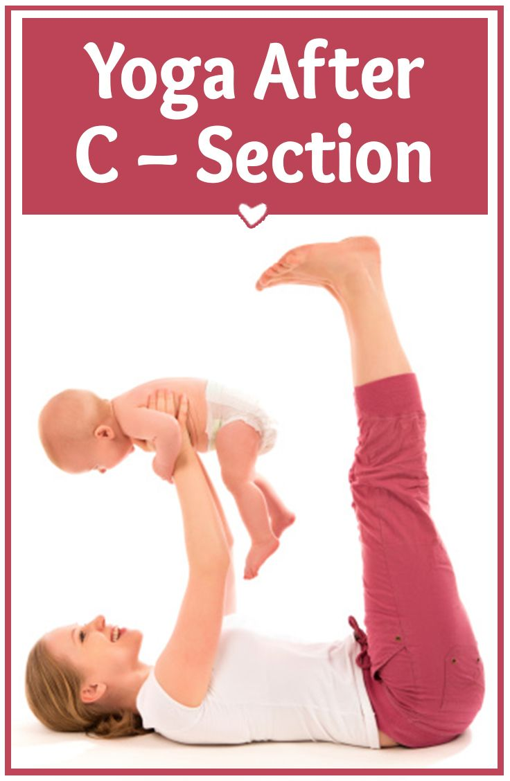yoga c section recovery