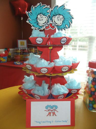 First Birthday/Dr. Seuss Birthday Party Ideas   Photo 3 of 23   Catch My Party