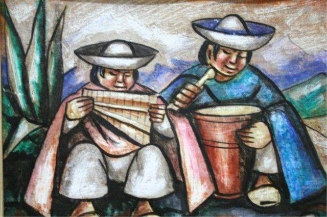 Resultado de imagem para pintura de Camilo Egas
