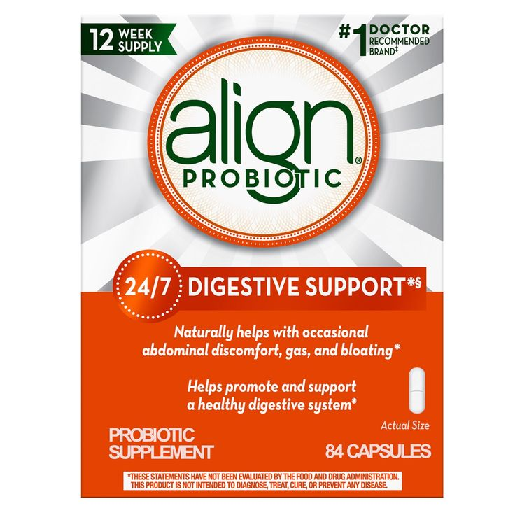 Align Daily Probiotic Supplement 84 Capsules Probiotics Supplement Probiotics Digestive Support