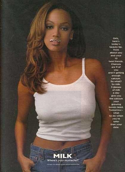 Got Milk? Campaign (1993-onward)   Tyra Banks Got Milk? Ad (1996)