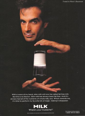 1997...David Copperfield, magician
