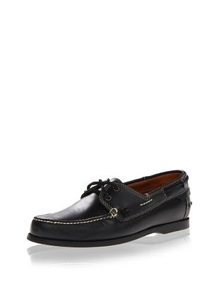 45% OFF JD Fisk Men's Baldwin Boat Shoe (Black)