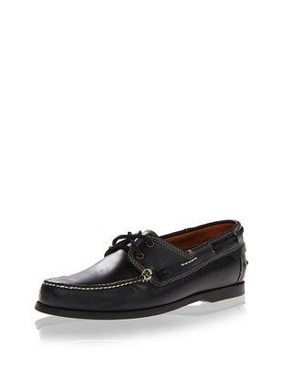 45% OFF JD Fisk Men's Baldwin Boat Shoe (Black)