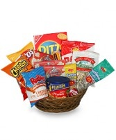 SALTY SNACKS BASKET Gift Basket in Nashville, TN | UNIQUE FLOWER FASHIONS INC