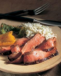 The most tender of the round steaks, beef top round steak is an excellent choice for grilling..