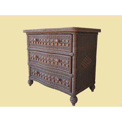 Classic 3 Drawer Dresser Color: Brownwash - http://delanico.com/dressers/classic-3-drawer-dresser-color-brownwash-641757680/