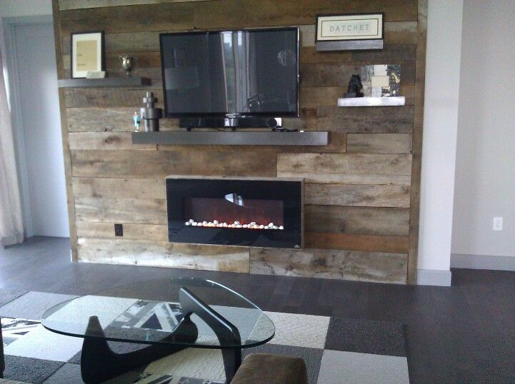 17 Best Images About Reclaimed Wood Accent Wall On