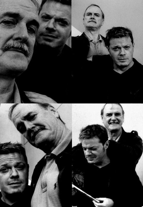 Izzard and Cleese in 4 photos of pure awesome.